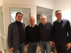 Carsten Brose, Bernhard Vogel, Heinz Näpel, Sven Miehe
